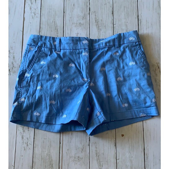 {Cambridge Dry Goods} Embroidered Bicycle Shorts